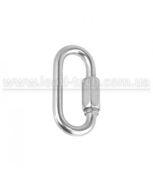 Stainless STRAIGHT SNAP HOOK WITH SAFETY SCREW DIN 5299