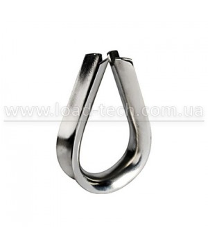 Stainless WIRE ROPE THIMBLE DIN 6899