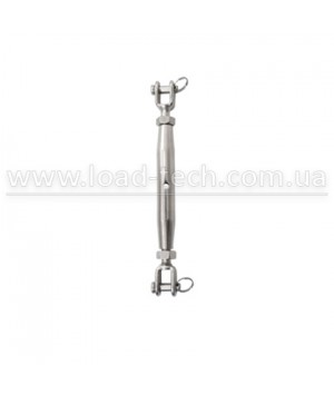 Stainless steel turnbuckle fork-fork