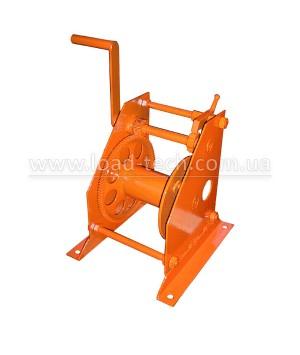 Manual gear winch 0.5t 60m