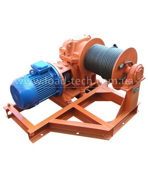 Electric shunting winch 4tn 100m