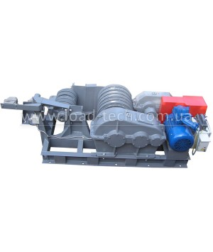 Electric reverse winch for cars