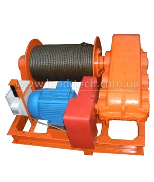 Electric winch 5tn 250m