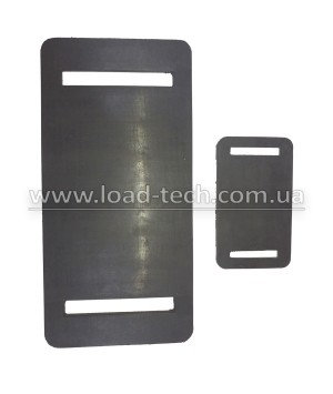 Protective rubber pad