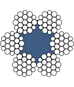 Канат сталевий ГОСТ 2688-80