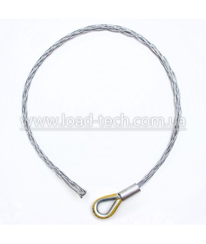 Single end cable sock