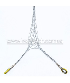 Lace-up cable sock