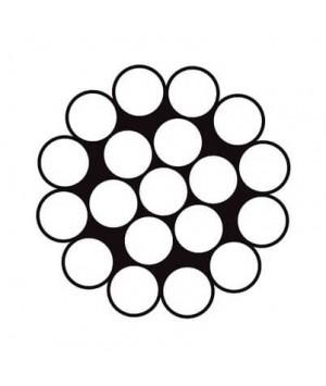 Канат сталевий оцинкований DIN 3053