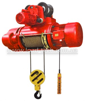 Electric wire rope hoist CD1 POLTEK