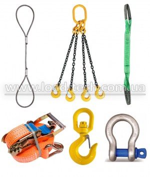 Set of slings up to 3 tons