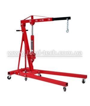 Hydraulic folding crane 2t