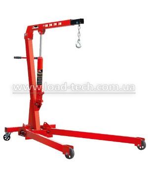 Hydraulic folding crane 1t