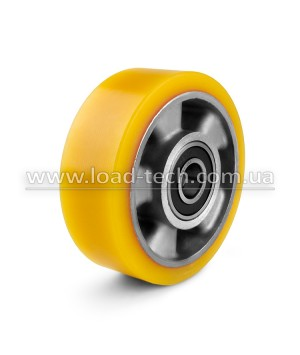 Wheels for hoisting equipment