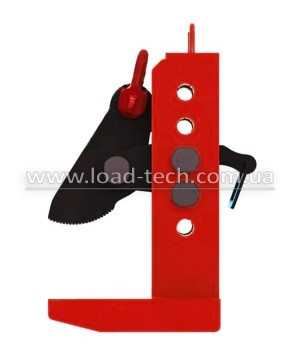 Horizontal clamp for a bundle of sheets