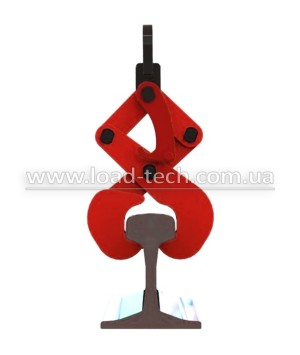 Claw clamp for rails and beams