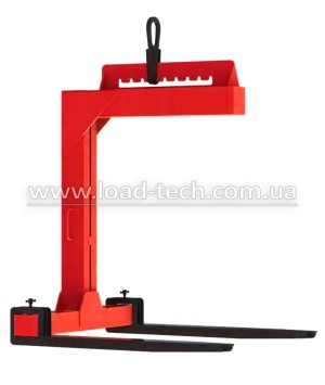 Clamp for pallet loads