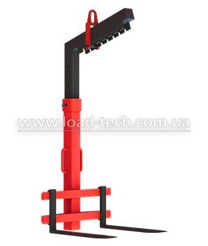 Pallet fork clamp