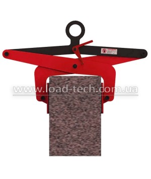 Clamp for marble and granite slabs
