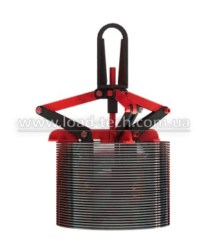 Clamp for wire coils