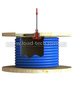 Cable drum clamp