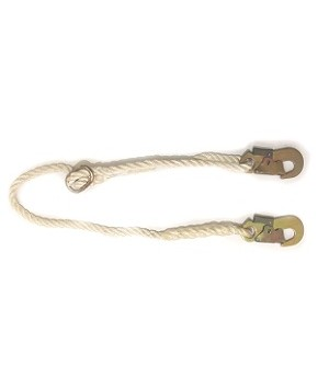 Rope safety lanyard