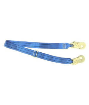 Webbing safety lanyard