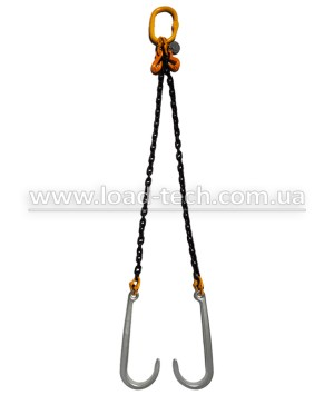 V-sling chain for tow truck
