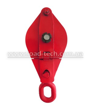 Snatch block with single sheave