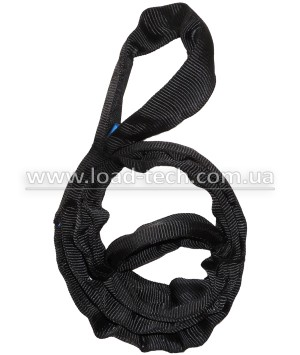 Endless round wire rope slings black