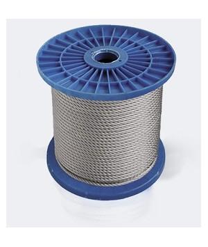 Steel rope DIN 3055 in PVC sheath