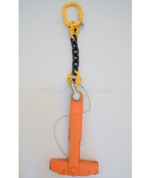 Rope drum clamp