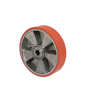 Wheels for hoisting equipment