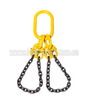 Basket chain sling