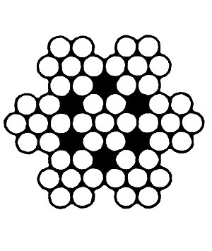 Канат сталевий оцинкований ГОСТ 3066-80