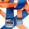 Tape for lashing ratchet straps
