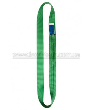 Endless flat polyester webbing sling