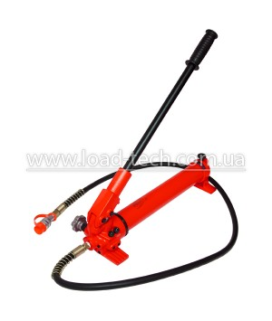 Hand pump for hydraulic cylinders