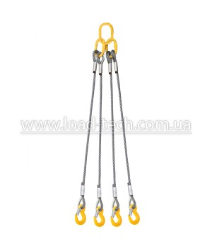 Four Leg Wire Rope Sling