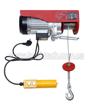 Electric wire rope hoist (electric hoist)