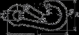 Карабин DIN 5899C